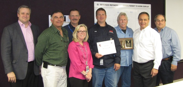 Dresser-Rand received a Gold Safety Award from Chevron Refinery El Segundo this year. The award represents a significant effort and achievement from field service employees, as well as Dresser-Rand management and service center employees.